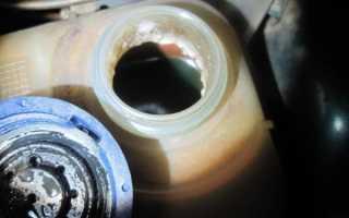 В двигатель попал антифриз как его слить