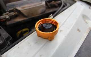 Большое давление в системе охлаждения двигателя приора