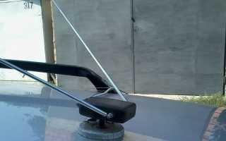 Самодельная антенна для автомагнитолы своими руками