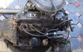 Двигатель 4 y тойота на что устанавливался