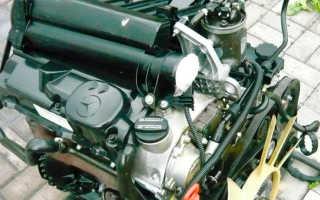 Шум при запуске двигателя на холодную мерседес