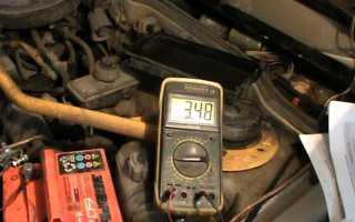 Степень заряженности автомобильного аккумулятора