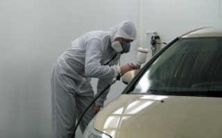 Реставрация лакокрасочного покрытия автомобиля
