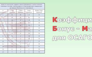 Как узнать свой КБМ и класс водителя ОСАГО