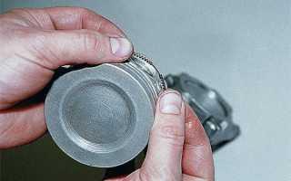 Какой зазор должен быть на поршневых кольцах ваз 2106