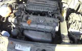 Volkswagen polo стучит двигатель холодный