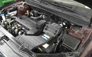Двигатель Hyundai G4KG