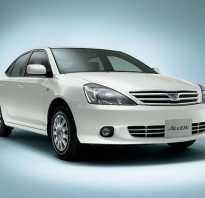 Комплектации и технические характеристики Тойота Алион 2002