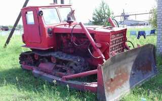 Гусеничный трактор Т-4А
