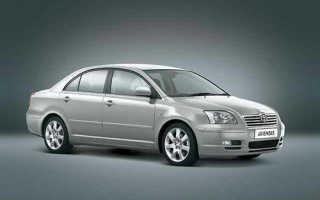 Технические характеристики Toyota Avensis T250 200308