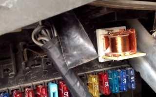 Как установить зажигание на двигателе аав