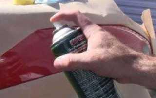 Как красить авто баллончиком советы профессионалов