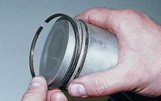 Как самому заменить поршневые кольца