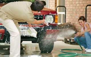 Какими подручными средствами можно помыть авто