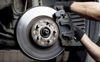 Греются передние тормозные диски