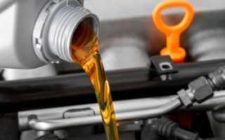Характеристика масла для двигателе легкового автомобиля