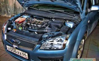 Горит лампа неисправности двигателя на форд фокусе