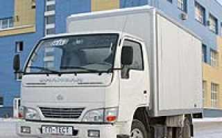 Малотоннажный китайский грузовик Changan и его разновидности