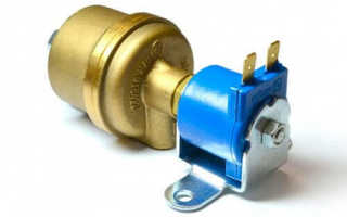 Электромагнитный газовый клапан ГБО