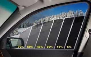 Разрешенная тонировка стекол автомобиля по ГОСТУ