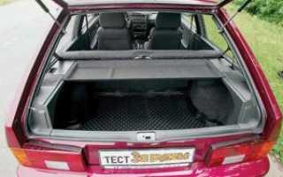 Объем багажника ВАЗ 2114 Лада ВАЗ 2114