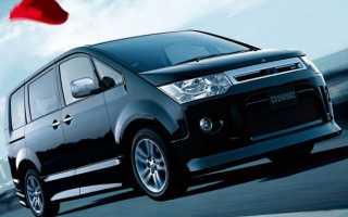 Скорость Mitsubishi Delica Мицубиси Делика