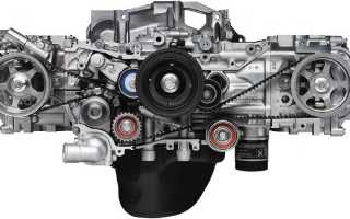 Двигатель Subaru EJ20 20 л