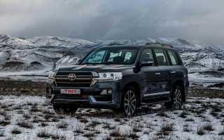 Технические характеристики Toyota Land Cruiser 200
