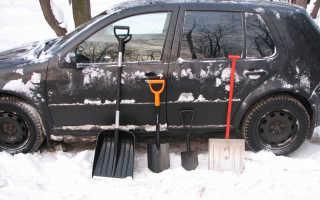 Складная автомобильная лопата как выбрать