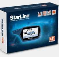Как производится установка starline a91 dialog