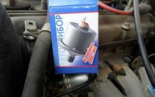 409 двигатель где находится датчик давления масла