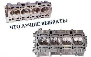 16 клапанные двигатели лучше или хуже