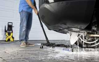 Как правильно пользоваться Керхером при мытье автомобиля
