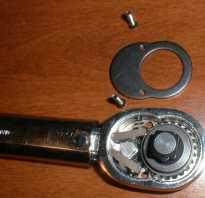 Динамометрический ключ как разобрать