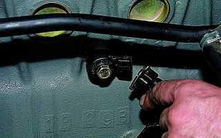 Замена датчика детонации приора 16 клапанов