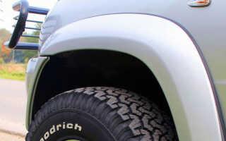 Пластиковые расширители колесных арок