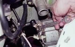 Как заменить генератор ВАЗ 2101