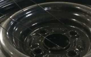 Как покрасить штампованные диски автомобиля своими руками