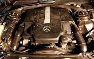113 двигатель мерседес какое масло заливать