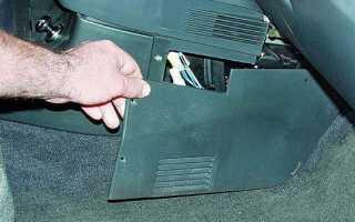 Снятие и установка топливного фильтра ваз 2110 2111 2112