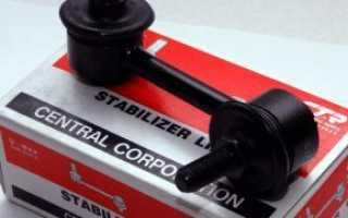 Стойки стабилизатора фирмы CTR