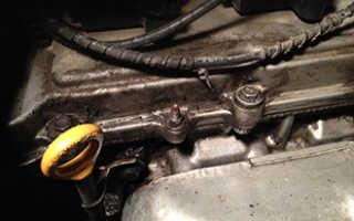 Шевроле ланос двигатель в масле что делать