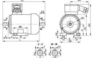 Асинхронный двигатель 45 квт технические характеристики