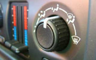 Пять причин почему в машине не греет печка