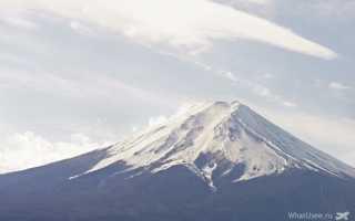 В Японии ввели ограничения при подъеме на гору Фудзи