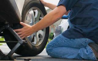 Как самому поменять резину на авто