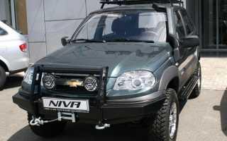 Варианты тюнинга полноприводного автомобиля Нивы Шевроле