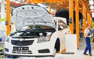 Какая страна является производителем автомобилей Chevrolet