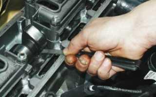 Регулировка клапанов ВАЗ 2114 на 8 клапанном двигателе