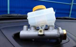 ВАЗ-2106 главный тормозной цилиндр принцип работы устройство ремонт